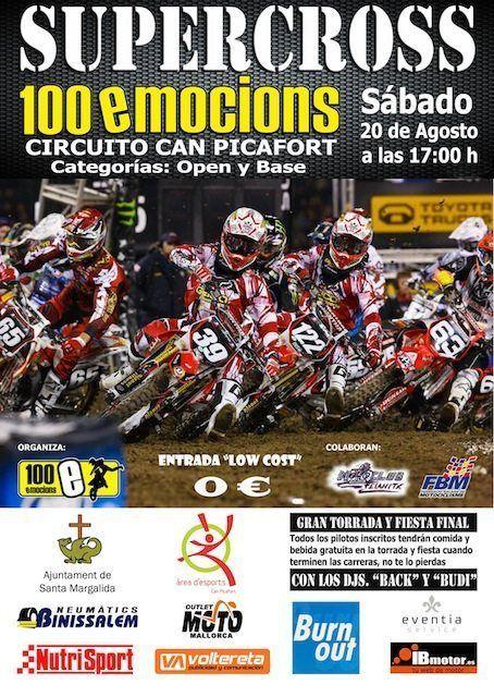 Supercross 100 emocions en Can Picafort