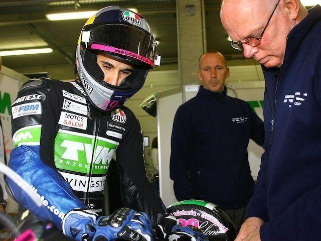 Lluís Salom en la previa del GP de la República Checa
