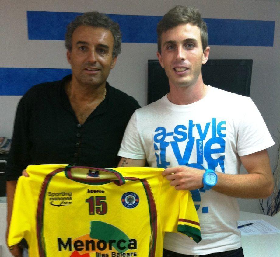 Adrien Goñi última incorporación para el Sporting Mahonés