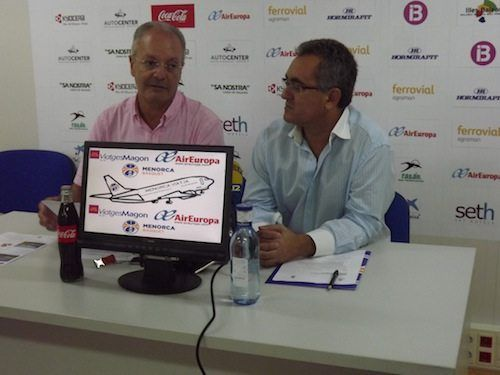 """Menorca Bàsquet presenta """"Menorca Viaja"""" en colaboración con Viatges Magon y Air Europa"""