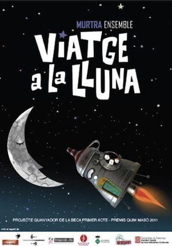"""""""Viatge a la lluna"""" guanyadora de la Beca Primer Acte s'estrena a Temporada Alta 2011"""