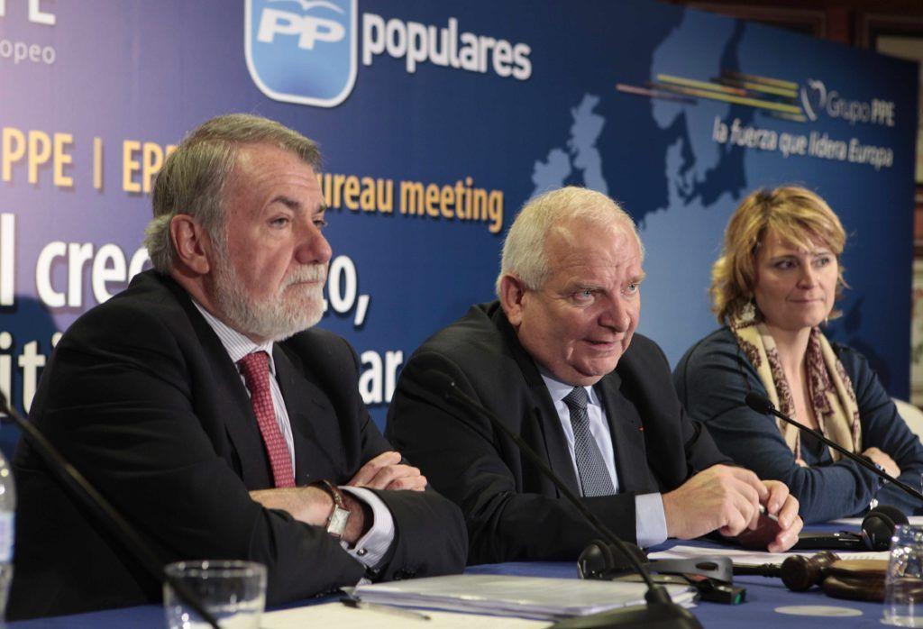 Joseph Daul, Jaime Mayor Oreja y Rosa Estaràs solicitan el reconocimiento y la compensación de la insularidad