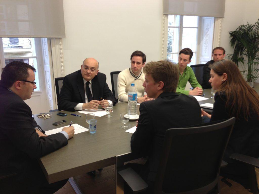 NN.GG. se reúne con el Director General de Política Universitaria del Gobierno central, Jorge Sáinz