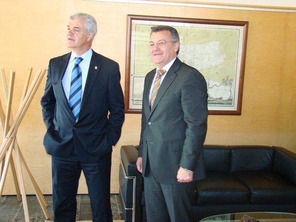 Presidents El Hierro i Menorca