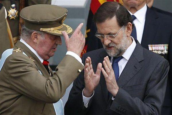 Rajoy y Juan Carlos