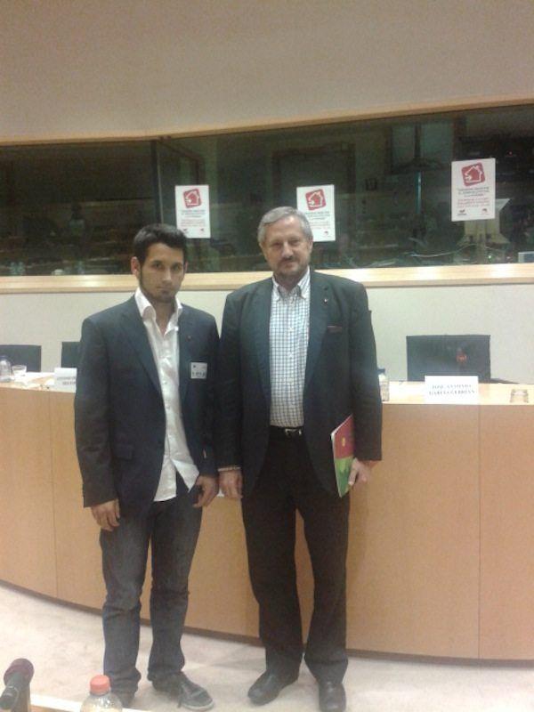 l'Eurodiputat Meyer i Juanjo Martínez