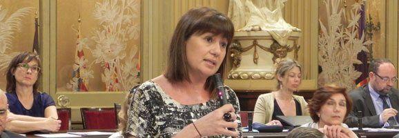 La Diputada Socialista, Francina Armengol