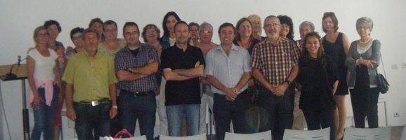 Membres de diferents Associacions d'Alzheimer al municipi d'Es Mercadal
