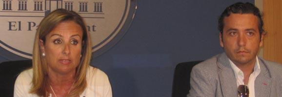 El portaveu en assumptes institucionals del Grup Parlamentari Popular, Fernando Rubio.
