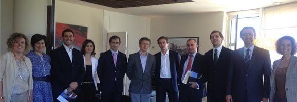 Miembros de la Junta Directiva de la Coordinadora Española de Polígonos Empresariales (CEPE)