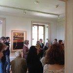 Els visitants de Miró: Poesía i llum van admirar el patrimoni de l'artista.