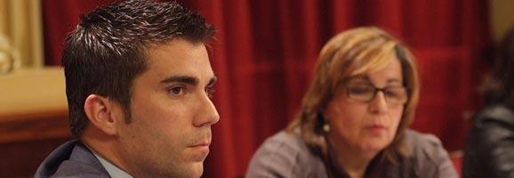 Jaime Fernández en el Pleno del Congreso