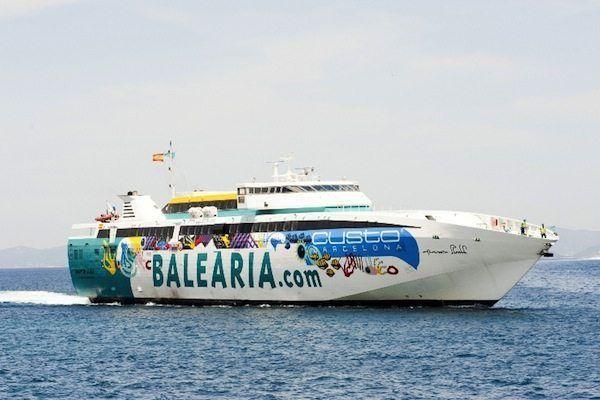 Baleària cierra un acuerdo con Rolls-Royce para remotorizar a gas tres de sus Fast Ferries