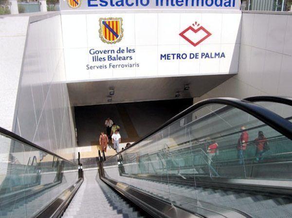 Parada del metro de Palma