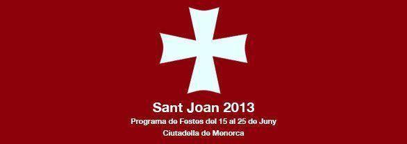 Programació de Festes Sant Joan 2013