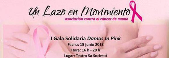 un lazo en Movimiento (Asociación Cancer de Mama) organiza en Calvià una Gala Solidaria