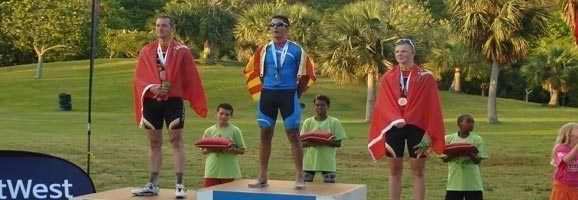 Kamal El Hihioui, ganador de la medalla de Oro en ciclismo.
