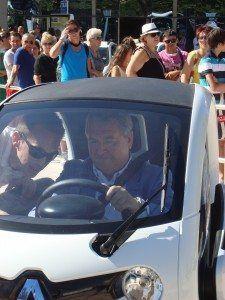 Presentació dels cotxes elèctrics al Port de Palma