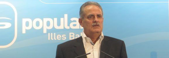 El portavoz del Partido Popular de las Illes Balears, Miquel Ramis.