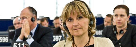 Rosa Estaràs, eurodiputada española del Partido Popular.