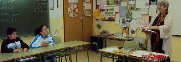 Fotografía d'una de les classes impartides al taller de sexualitat i vida afectiva.