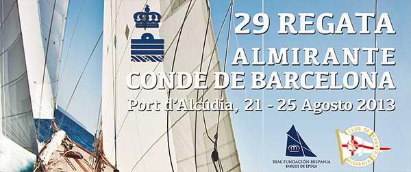 """El arte, protagonista de regata """"Almirante Conde de Barcelona"""" en el Puerto de Alcudia."""
