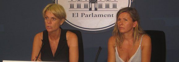 La portavoz de Educación del Grupo Parlamentario Popular, Aina Aguiló.