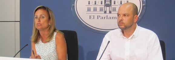 Mabel Cabrer i Óscar Fidalgo declaren sobre les pressupostos de Balears.