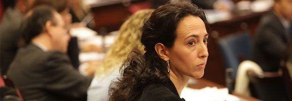 La portavoz de Turismo del Grupo Parlamentario Popular, Lourdes Bosch.