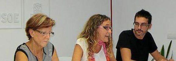 Maria Membrive, Secretaria d'Organització del PSOE de Maó.