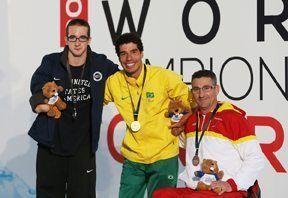 Sebastián Rodríguez, ganador de una plata y dos bronces.