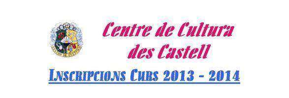 Inicia el curs el Centre Cultural des Castell amb noves ofertes d'activitats per a petits i grans.