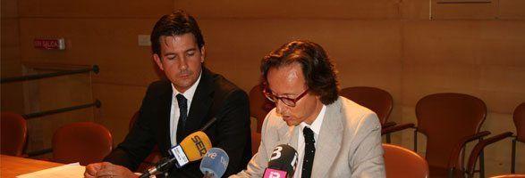 Fernando Gilet y Joan Punyet.