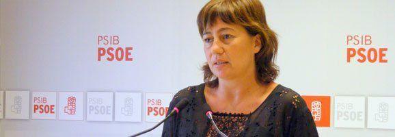 Francina Armengol, portaveu parlamentària del partit socialista.