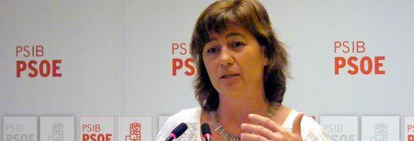 Francina Armengol explica la intenció del Partit Socialista de recorrer el TIL