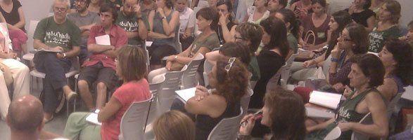 Participació dels representants a l'assemblea de docents de dia 18 a Es Mercadal.