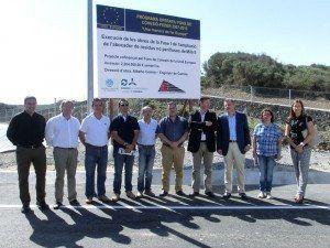 Presentació del cartell explicatiu del procés d'ampliació des Milà.
