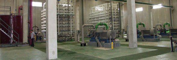 Planta dessaladora d'aigua de mar de Ciutadella.