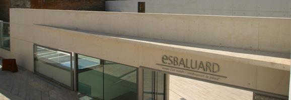 Façana de l'edifici d'Es Baluard.