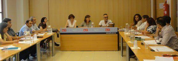 Executiva del PSIB-PSOE reunida avui per debatre sobre les mesures que s'ha nde dur a terme per la pujada de pensions.