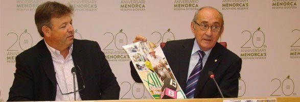 El conseller Villalonga ha presentat la Fira d'Artesania de Ferreries preparada per dur-se a terme aquest mateix cap de setmana.