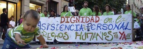 El Foro de Vida Independiente y Divertad, esta tarde celebrará en Madrid la VII Marcha por los Derechos de las Personas con Diversidad Funcional - Derechos Humanos, YA! con la presencia de Pilar Bardem y el apoyo de Guillermo Fesser (Gomaespuma).