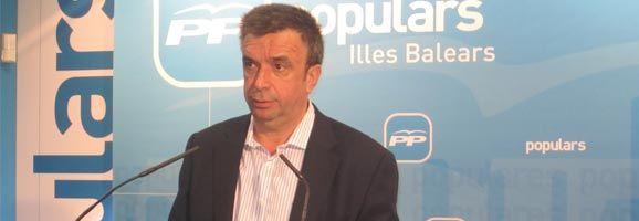 El secretario general del Partido Popular de las Illes Balears, Miquel Vidal.