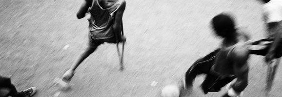 "Pep Bonet, sèrie ""One Goal"", Sierra Leone 2002-2007. Col·lecció Es Baluard. © Pep Bonet / Noor"