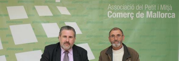 El presidente de PIMECO, Bernat Coll, y el presidente de Petits Cellers, Andreu Oliver.