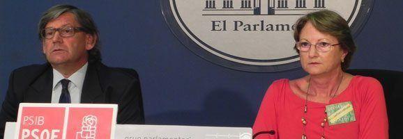 Critina Rita i Vicenç Thomàs han demanat que es cancelin els expedients imposats als directors de Menorca.