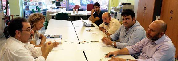 EUIB reunit amb el Col·legi de Procuradors de les Illes Balears.