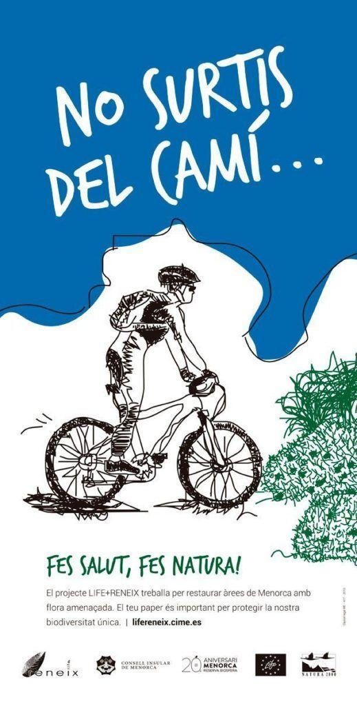No surtis del Camí, Ciclista.