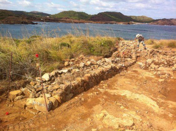 Construcció d'encadenats de paret.