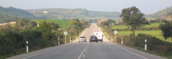 Carretera Me-1 de Menorca